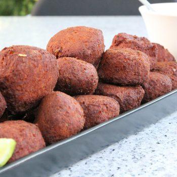 Tandoori tuna cakes