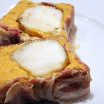 Monkfish and bacon terrine
