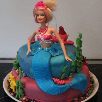 Barbie princess Lumina birthday cake