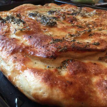 Focaccia with lardo