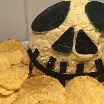 Jake Skellington cheese ball