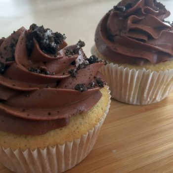 Oreo and chocolate cupcakes